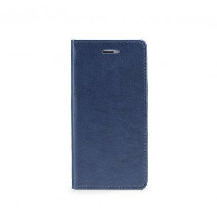 92547 pouzdro magnet flip wallet book huawei y6 2018 navy blue