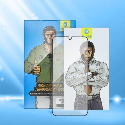 96939 tvrzene sklo 5d mr monkey glass apple iphone 7 8 plus bile strong hd