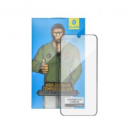 96954 1 tvrzene sklo 5d mr monkey glass apple iphone 7 8 plus cerne strong hd