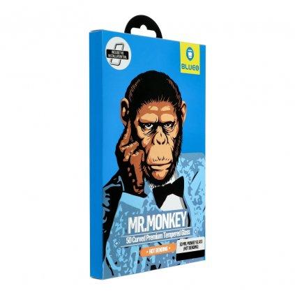 96888 1 tvrzene sklo 5d mr monkey glass apple iphone 7 8 cerne hot bending