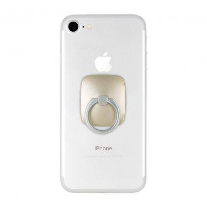 112724 stojan na mobil drzak na prst mercury wow ring zlaty