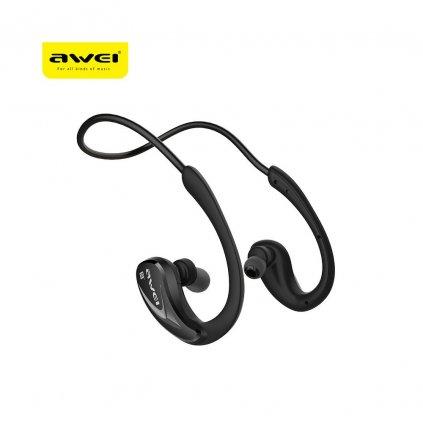 97764 stereo sluchatka headset bluetooth awei a880bl cerne