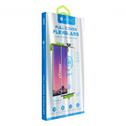 106787 tvrzene sklo flexible nano glass 5d full glue huawei mate 20 pro hot bending