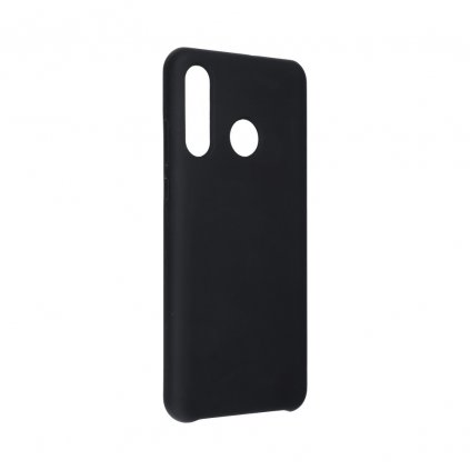116987 2 pouzdro forcell soft touch silicone huawei p30 lite cerne