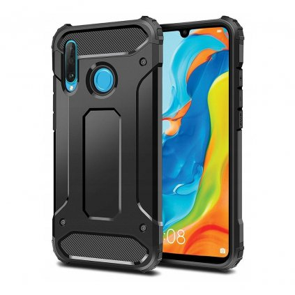 116969 3 obrnene pouzdro forcell armor huawei p30 lite cerne