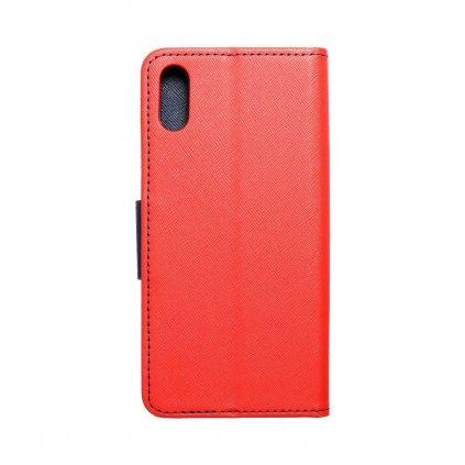 118580 pouzdro fancy book huawei y6 2019 red navy