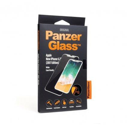 113576 tvrzene sklo panzerglass apple iphone x xs white edge to edge cs