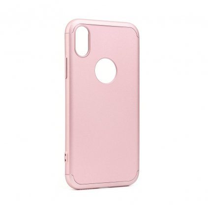 117923 1 originalni obal gkk 360 full protection apple iphone xs max ruzovo zlaty