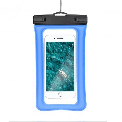 130472 vodotesne pouzdro airbag s plastovym uzaverem modre