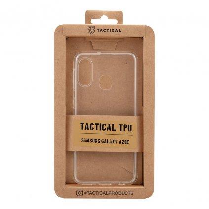 Tactical TPU Pouzdro Transparent pro Samsung Galaxy A20e