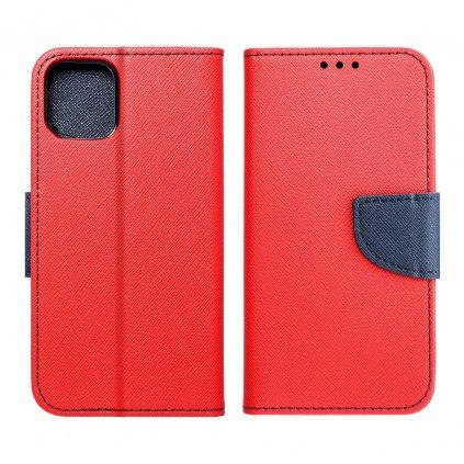 129203 3 pouzdro fancy book nokia 1 plus cervene navy blue