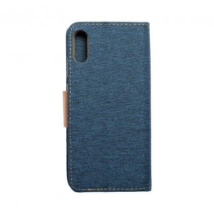 125129 3 pouzdro canvas mercury book huawei y6 2019 navy blue