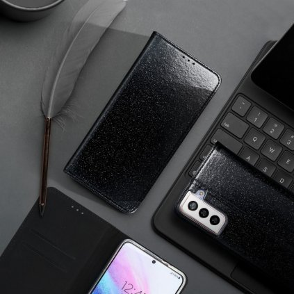 135560 3 pouzdro forcell shining book apple iphone 6 cerne