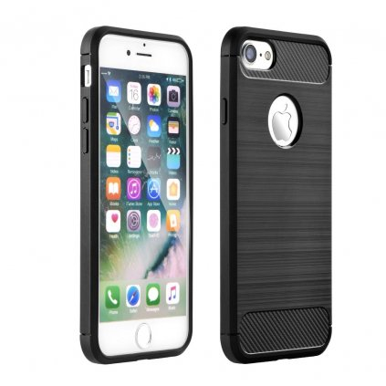 138824 1 pouzdro forcell carbon apple iphone 4 4s cerne