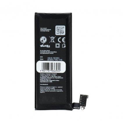 107288 baterie apple iphone 4 1420 mah polymer blue star hq