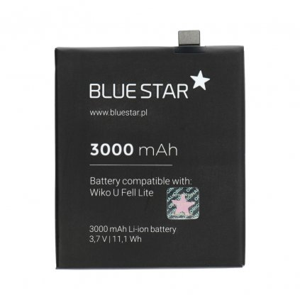 142184 2 baterie wiko wiko u feel lite 3000 mah li ion blue star