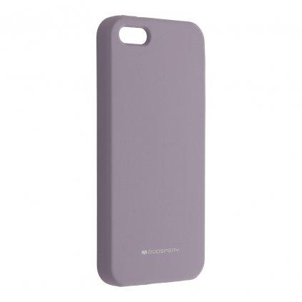 146531 pouzdro mercury silicone apple iphone 5 5s se sede