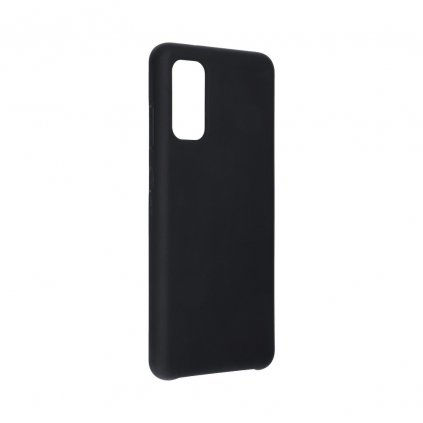 147752 3 pouzdro forcell soft touch silicone samsung galaxy s11e s11 lite cerne