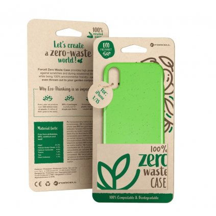 148907 pouzdro forcell bio zero waste case huawei y5 2019 zelene