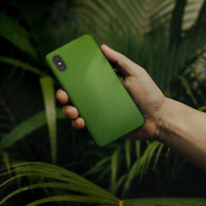 148859 pouzdro forcell bio zero waste case iphone 6 plus 6s plus zelene
