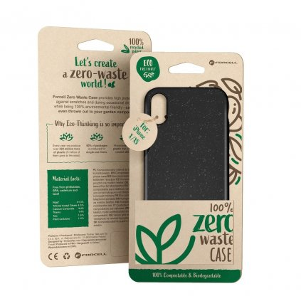148760 3 pouzdro forcell bio zero waste case iphone x xs cerne