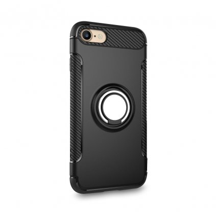 148541 pouzdro forcell carbon ring iphone 11 cerne