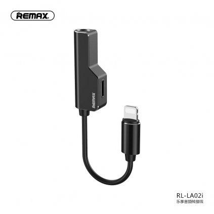 134462 remax adapter audo hf pro apple lightning lightning aux jack 3 5mm cerny