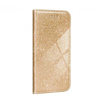 142607 pouzdro forcell shining book xiaomi redmi 8a zlate
