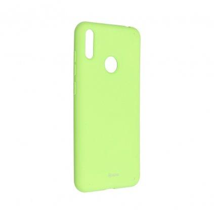 120071 3 pouzdro roar colorful jelly case huawei y7 2019 limonka