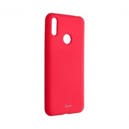 120053 3 pouzdro roar colorful jelly case huawei y7 2019 ruzove