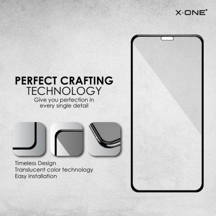 97110 ochranne tvrzene sklo x one 3d apple iphone 7 8 5 5 full glue cerne
