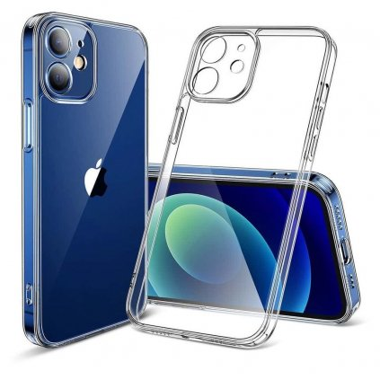 158552 3 forcell pouzdro back case ultra slim 0 5mm apple iphone 12 12 pro transparentni