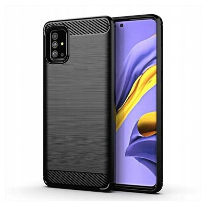 155237 pouzdro forcell carbon samsung galaxy a71 5g cerne