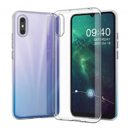 158708 3 pouzdro back case ultra slim 0 3mm xiaomi redmi 9a transparentni
