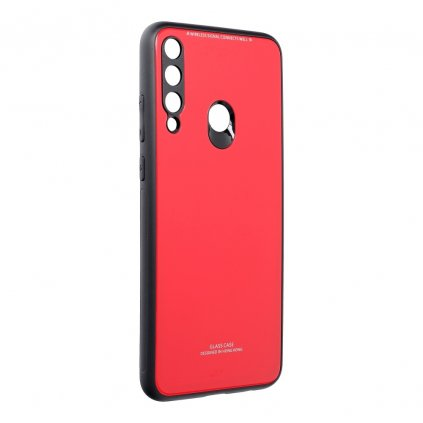 158834 3 pouzdro forcell glass huawei y6p cervene
