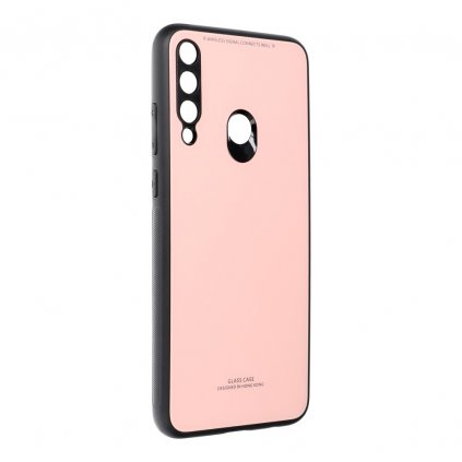 158843 3 pouzdro forcell glass huawei y6p ruzove