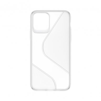 158123 pouzdro forcell s case apple iphone 12 pro max transparentni
