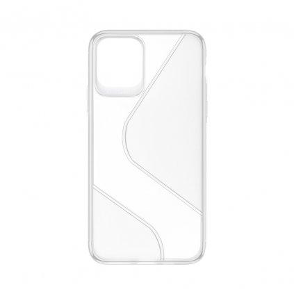 158123 pouzdro forcell s case apple iphone 12 pro max transparentni