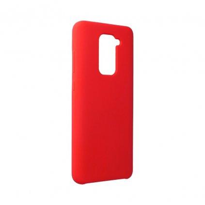 159740 pouzdro forcell soft touch silicone xiaomi redmi note 9 cervene
