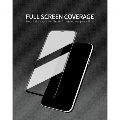 158642 3 ochranne tvrzene sklo x one full cover extra strong apple iphone 12 pro 6 1 full glue cerne