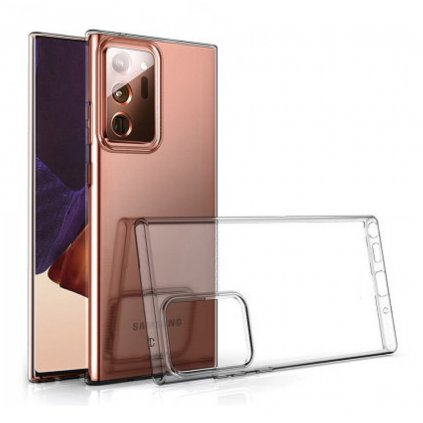 158567 forcell pouzdro back case ultra slim 0 5mm samsung galaxy note 20 transparentni