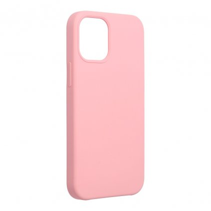 159677 pouzdro forcell soft touch silicone apple iphone 12 mini praskova ruzova