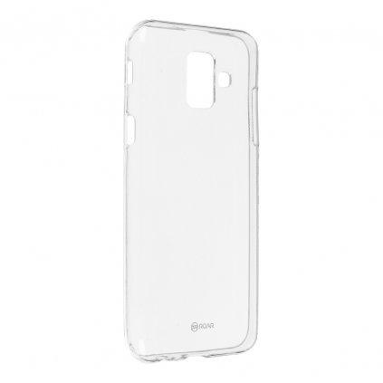100563 pouzdro roar transparent tpu case samsung galaxy a6 transparentni