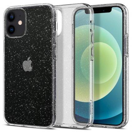 177423 pouzdro spigen liquid crystal apple iphone 12 mini glitter crystal