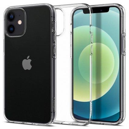 177417 pouzdro spigen liquid crystal apple iphone 12 mini transparent