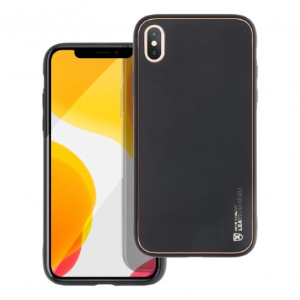 181098 3 pouzdro forcell leather case apple iphone x cerne