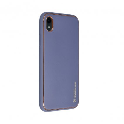 181083 3 pouzdro forcell leather case apple iphone xr modre