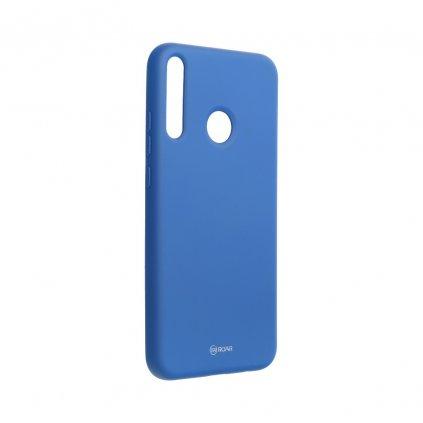154334 pouzdro roar colorful jelly case huawei p40 lite e navy blue