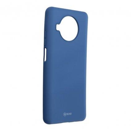 170360 pouzdro roar colorful jelly case xiaomi mi 10t lite 5g navy blue