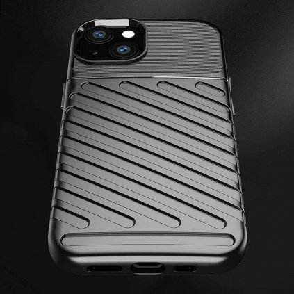 186219 3 pouzdro forcell thunder pro apple iphone 13 cerne